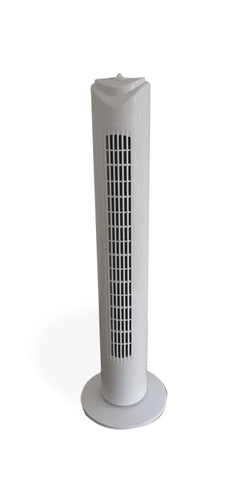 tower fan 80cm, 3 speed levels, 45w